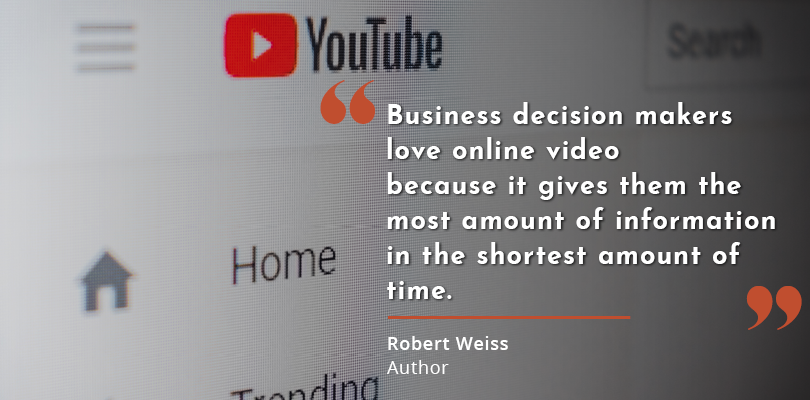 Video is the most successful content in marketing