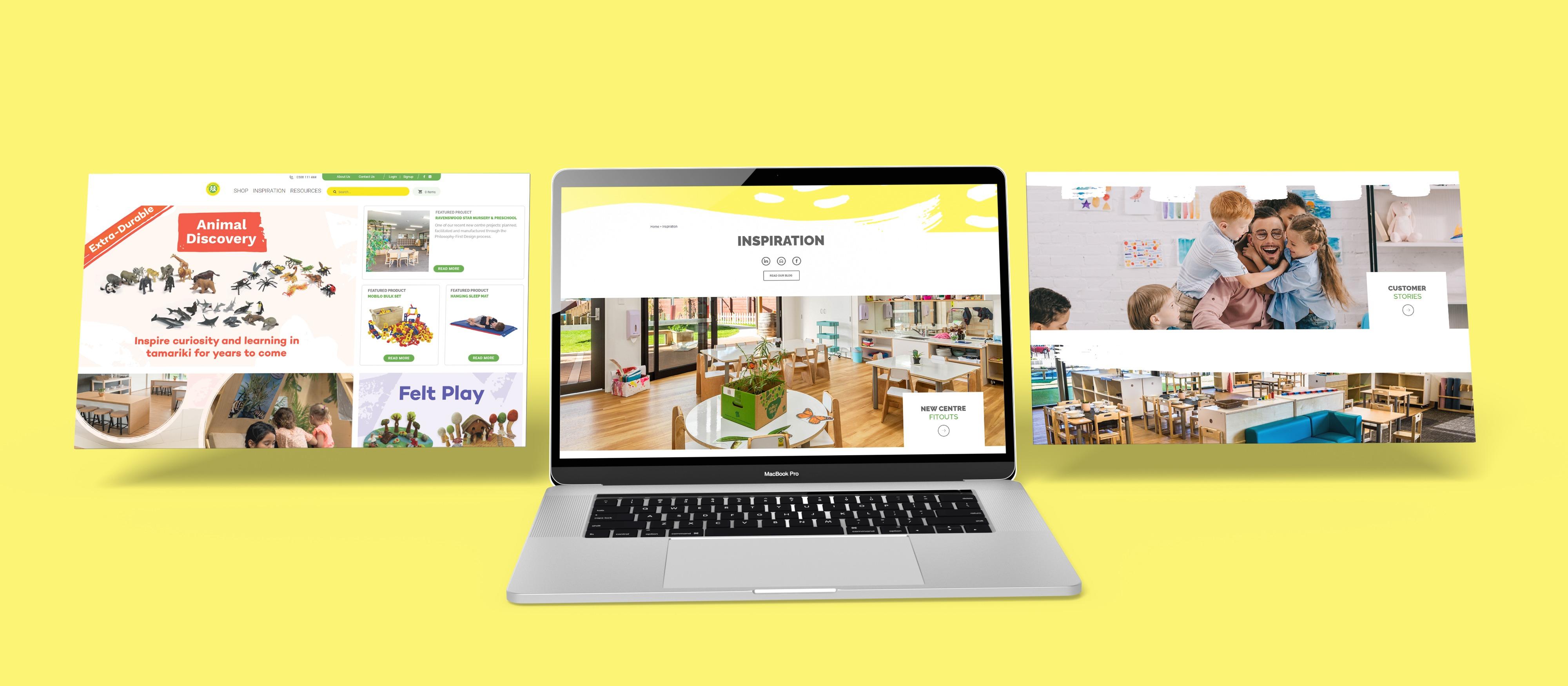 Macbook 3 Play n Learn Website