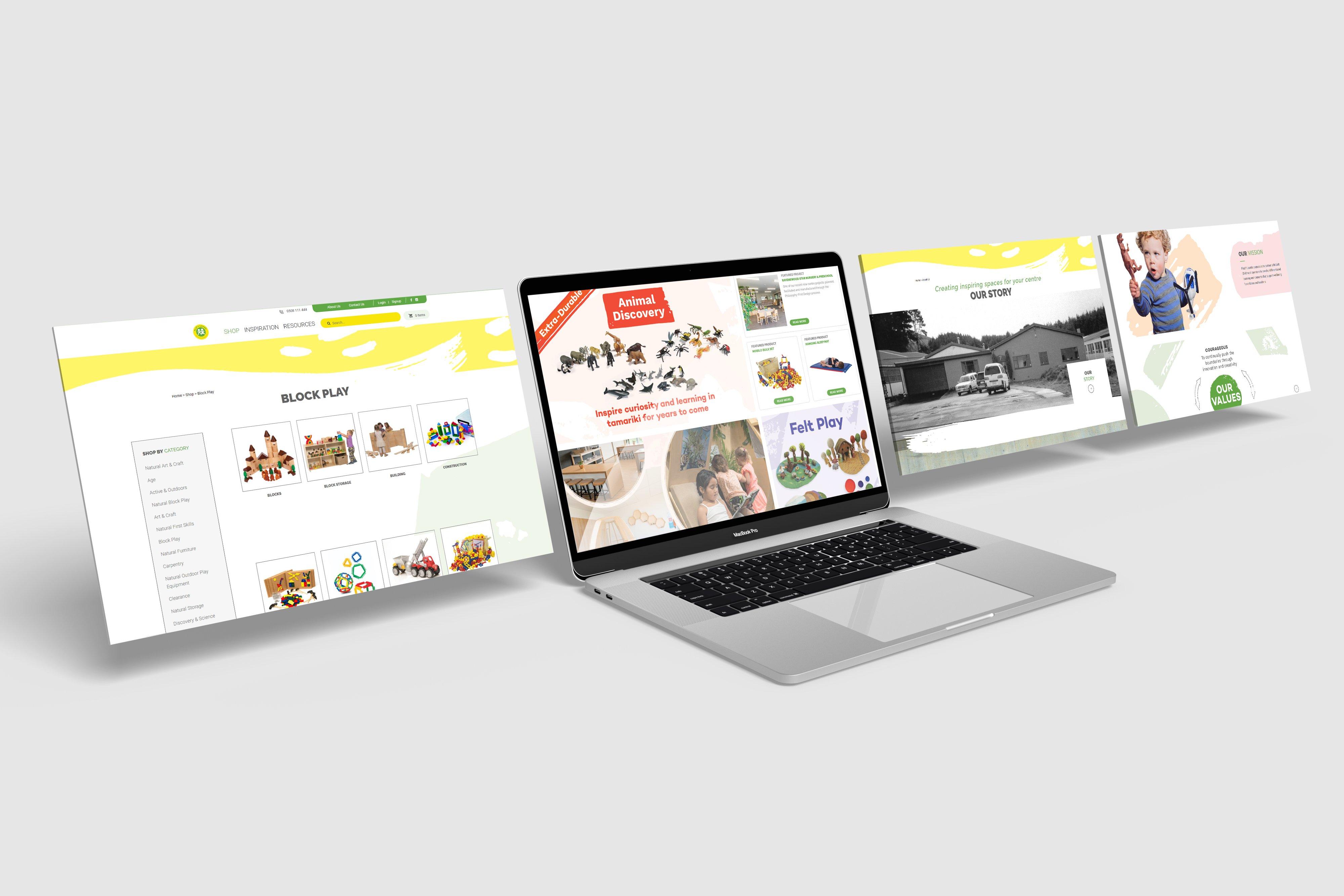 Macbook 4 Play n Learn Website
