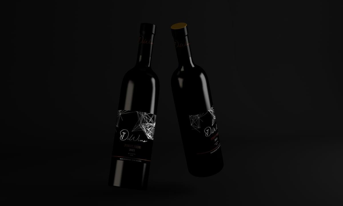 Pinot Noir Label Design