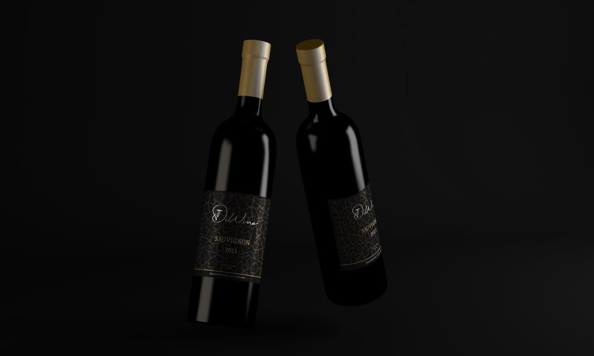 Wine Bottle 3 copy